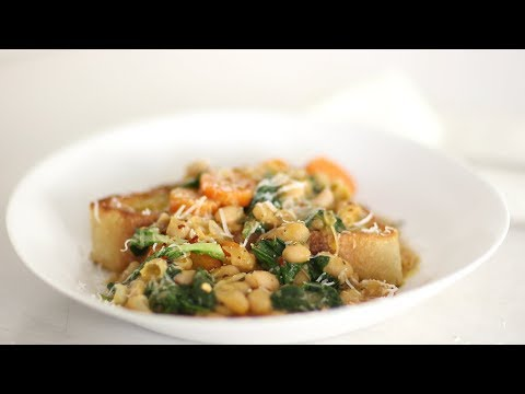 Brothy White Beans and Greens- Healthy Appetite with Shira Bocar