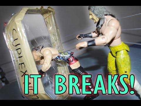 How To Make Breakaway Glass For WWE Figures