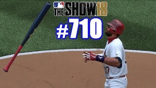 BAT FLIPPING IN ST. LOUIS! | MLB The Show 18 | Road to the Show #710