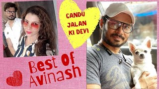 Best of Avinash Dwivedi 's Jokes 2 | @Sambhavna Seth Entertainment  | Sambhavna Seth Dogs |  DNA 365
