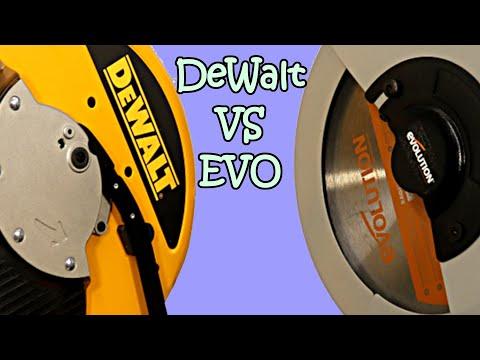 Evolution Rage2 vs DeWalt DW872 for cutting aluminum