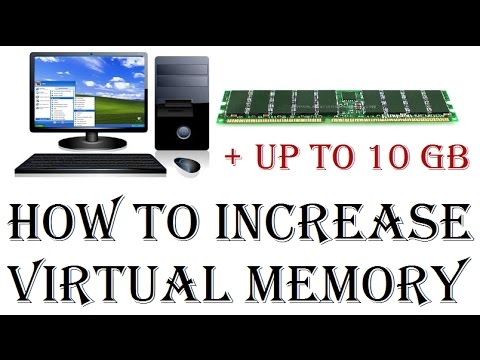 How To Increase Virtual Memory in Windows 7/8/10 | Making computer faster by upgrading virtual RAM