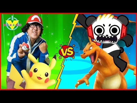 Pokemon Let's Go Pikachu Part 5 Gym Battle with HobbyPig