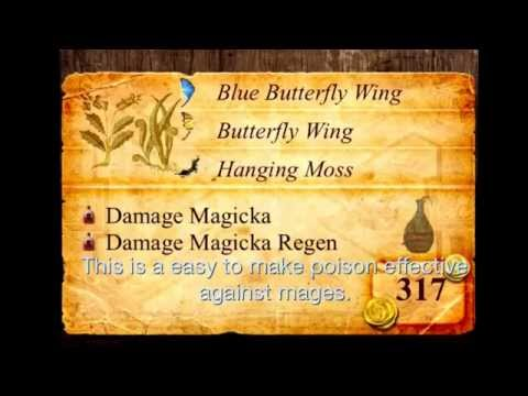 Useful Skyrim poison recipes