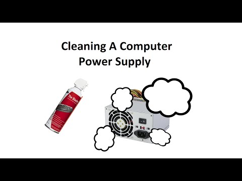 Cleaning A Power Supply