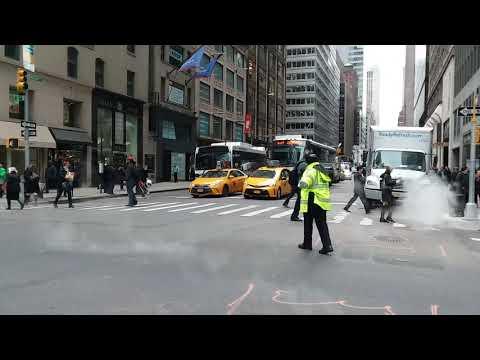 NYU Langone EMS Responding On Madison Ave In Manhattan, New York