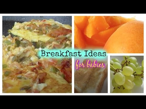 What I Feed My 11-month old twins? (Breakfast)