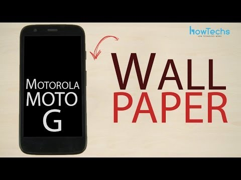 Motorola Moto G - How to change wallpaper