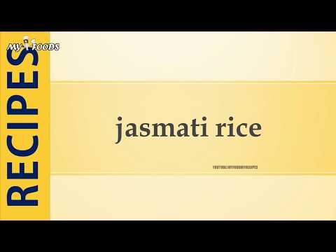 jasmati rice