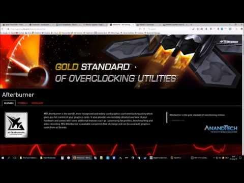 How to display FPS CPU GPU statistics in any game