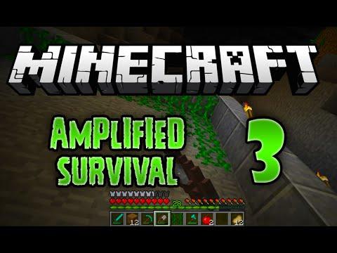 Minecraft Vanilla Amplified Survival - 3 -