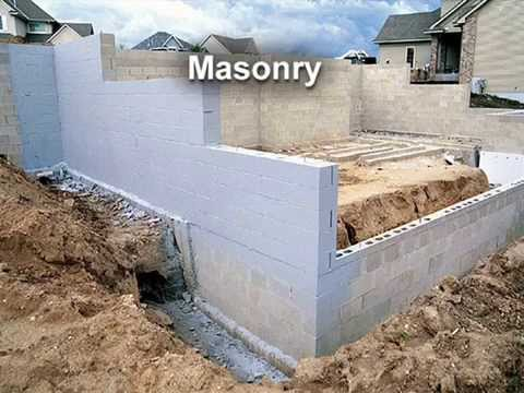 Survey of Different Foundation Wall Types