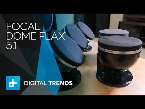 Focal Dome Flax 5.1 Home Theater Speakers - Hands On Review