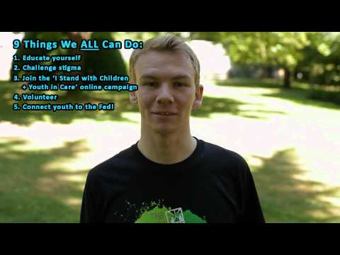 Federation of BC Youth in Care Networks PSA: How to stand with youth in and from care