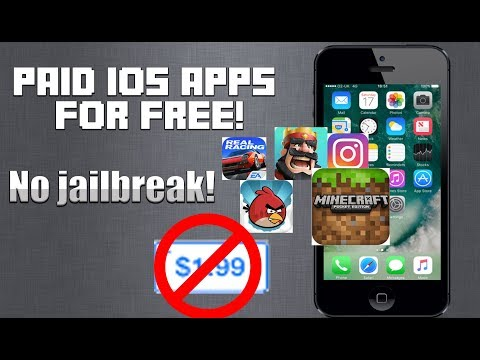 How to get paid apps for free! (NO JAILBREAK) [iPhone iPad iPod touch]