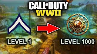 Level 1 To Master Prestige In 5 Simple Steps! (cod Ww2 How To Level Up As Fast As Possible!)