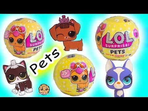 LOL Surprise Pets Blind Bag -  Litter Box Sand  , Cry , Color Change ?