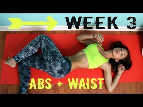 Bikini Body Challenge - Week 3, Waist & Abs