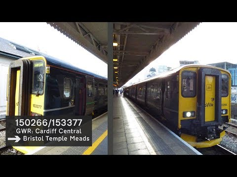 **Pure Thrash**|150266/153377 Cardiff Central to Bristol Temple Meads