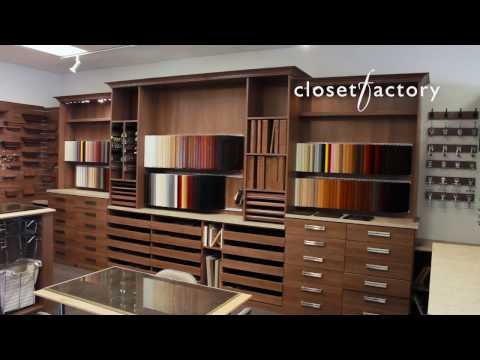 Closet Factory - Visit Our Los Angeles Showroom