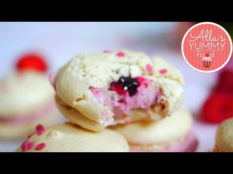 Black Currant Macarons Recipe | How to Make Macarons from Scratch