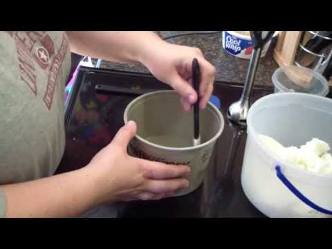 Making Homemade Laundry Bars (For Laundry Detergent)