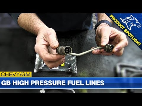 GB High Pressure Fuel Lines Overview: 2001-2004 GM Duramax LB7