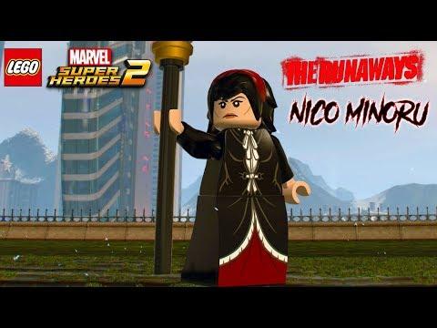 LEGO Marvel Super Heroes 2 - Nico Minoru Free Roam Gameplay (The Runaways DLC)