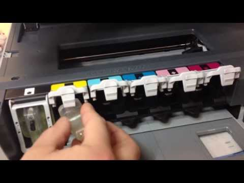 How To Clean Printer Head in HP Printers HP Photosmart 8200 C8100 C5180 C6180