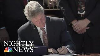 25 Years Later, The 1994 Crime Bill Is Still Being Debated   NBC Nightly News