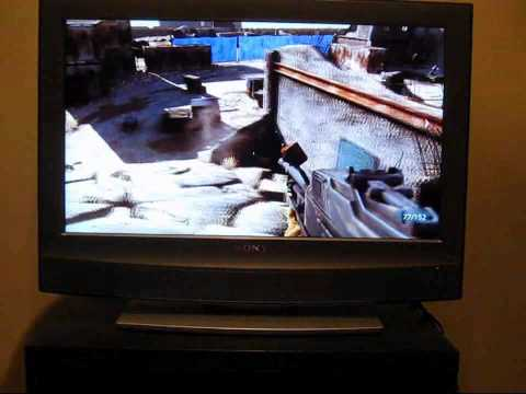 Dell XPS 15 playing Medal of Honor 2010 using HDMI output