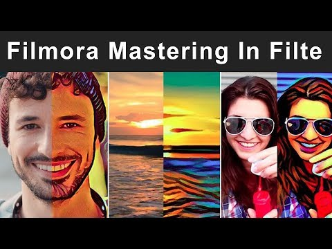 How To Use Filmora overlay effects | Filmora Professional Video Look