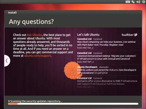 Installing: Ubuntu 12.04