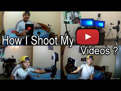 [HINDI] How I Shoot My YouTube Videos ? Tips To IMPROVE Video Quality For All the CREATORS !
