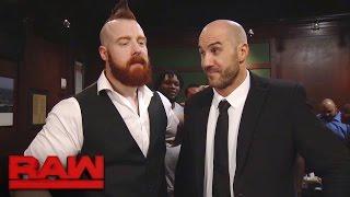 Cesaro & Sheamus unite during a massive bar fight: Raw, Nov. 28, 2016