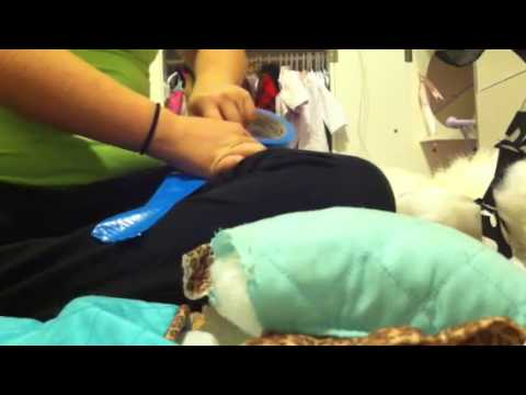 How to make a sleeping bag for your ag doll