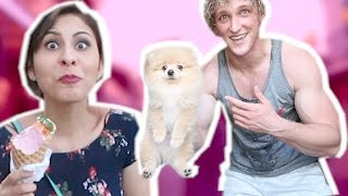 PICKING UP GIRLS WITH MY NEW PUPPY!