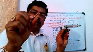Experiment On Screw Gauge Micrometer