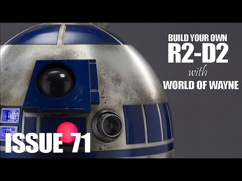 Build Your Own R2-D2 - Issue 71 - Pay close attention to the frame