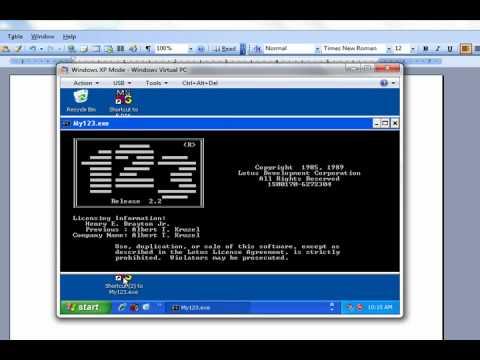 DOS in a Windows 7 Computer