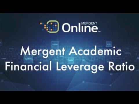 Leverage & Coverage -  Financial Leverage Ratio