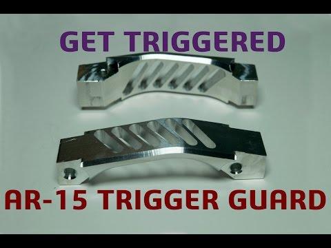 Machining A Custom AR-15 Trigger Guard