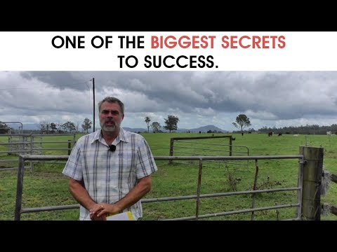 One Of The Biggest Secrets To Success.