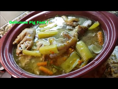 Pigs Feet - Pork Trotters - Pitter Patters Southern Soul Style