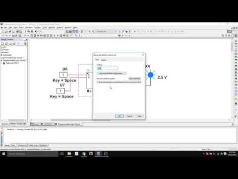 PLD and Hierarchical design and simulation within Multisim