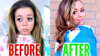 How TO GLO UP for Back To School + LIFE HACKS! | Krazyrayray