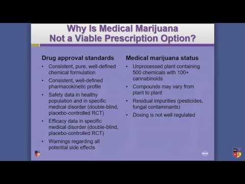 Medical Marijuana as a Viable Prescription Option?