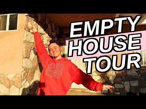EMPTY HOUSE TOUR + GETTING THE KEYS TO MY NEW HOUSE!  | Moving Vlog