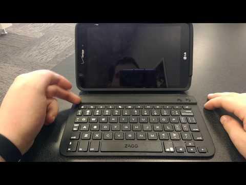 Accessory Review: ZAGG Folio Case LG G Pad 8 3