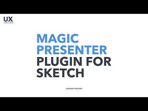 How to create a Presentation Slide in Sketch, Use Magic Presenter Plugin